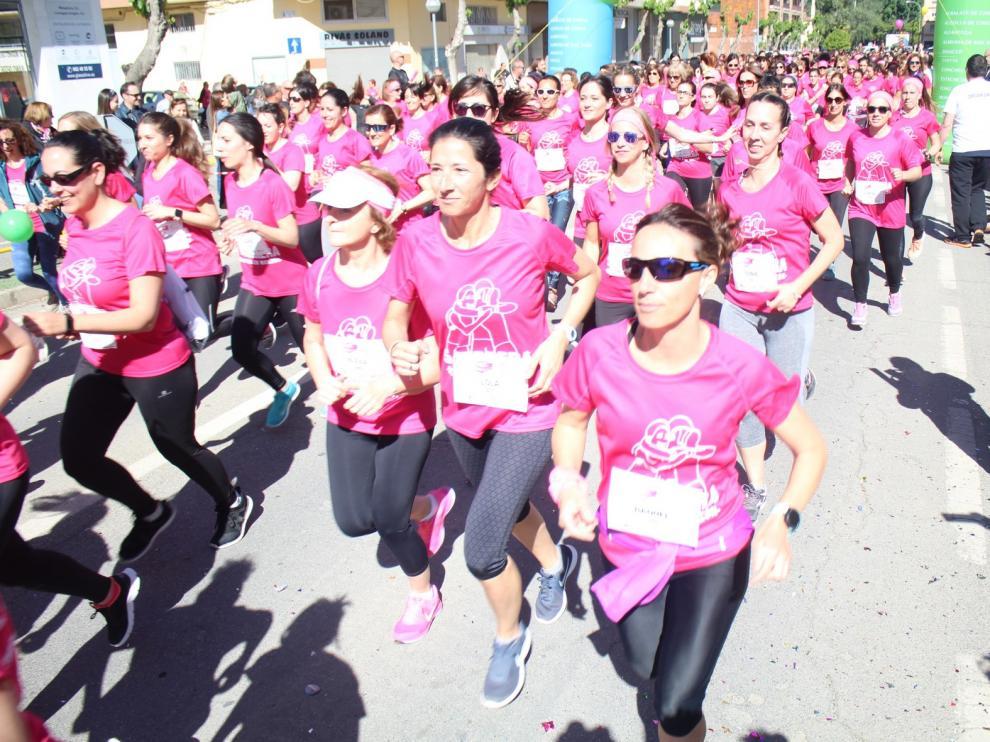 """La V Carrera de la Mujer """"Ciudad de Monzón"""" recauda 12.650 euros"""