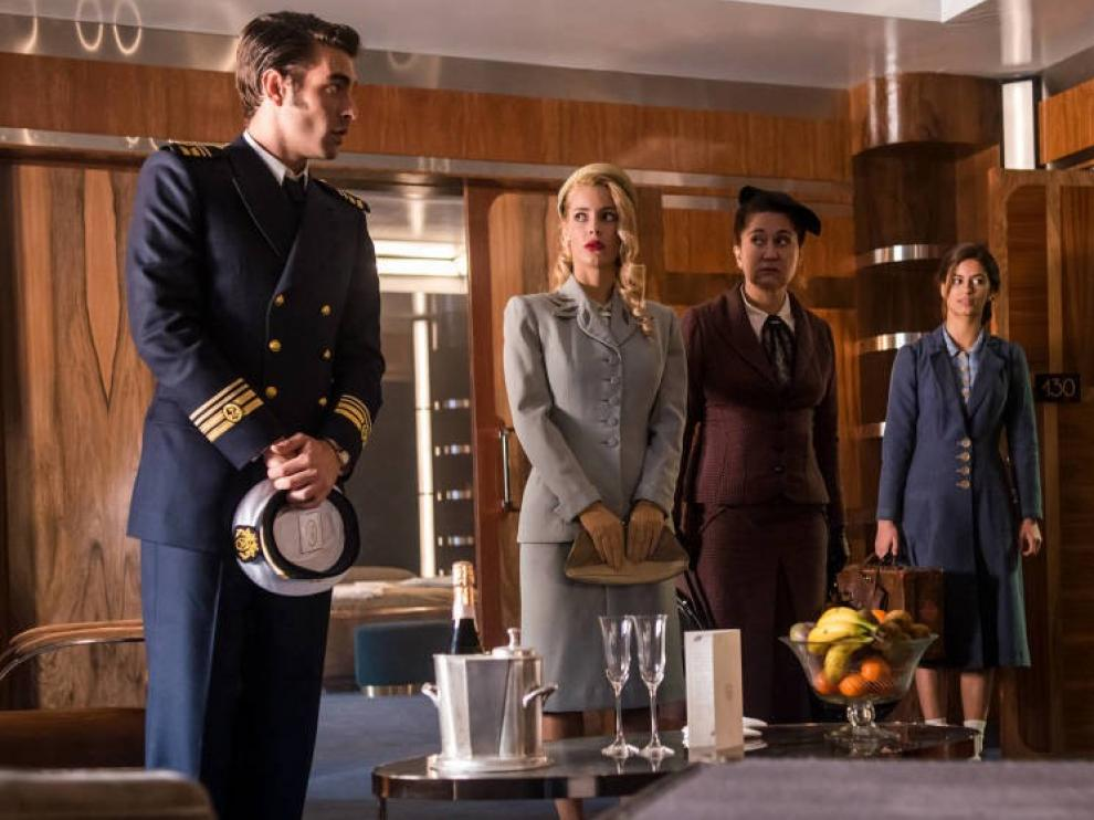 """El trasatlántico """"Alta Mar"""" va a zarpar en Netflix el 24 de mayo"""