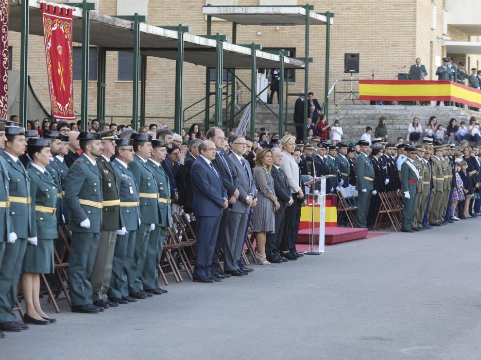 Huesca acogerá en octubre la celebración nacional de la fiesta de la Guardia Civil