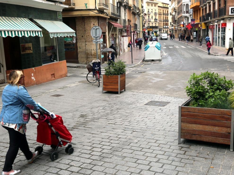 Las obras de reurbanización del Coso Bajo de Huesca comenzarán después del verano