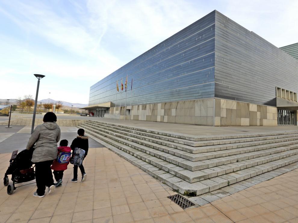 El Ayuntamiento de Huesca ingresa 129.000 euros más en 2018 por el alquiler del Palacio de Congresos