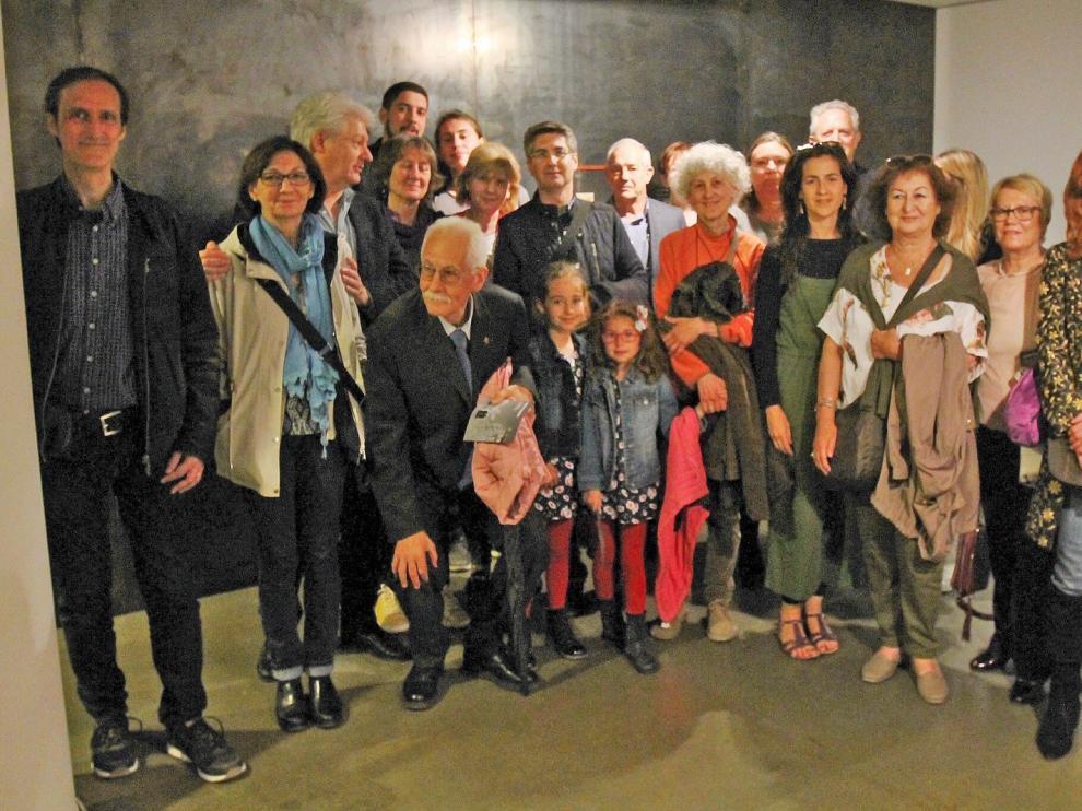 Huesca revive su pasado con la exposición de Rodolfo Albasini