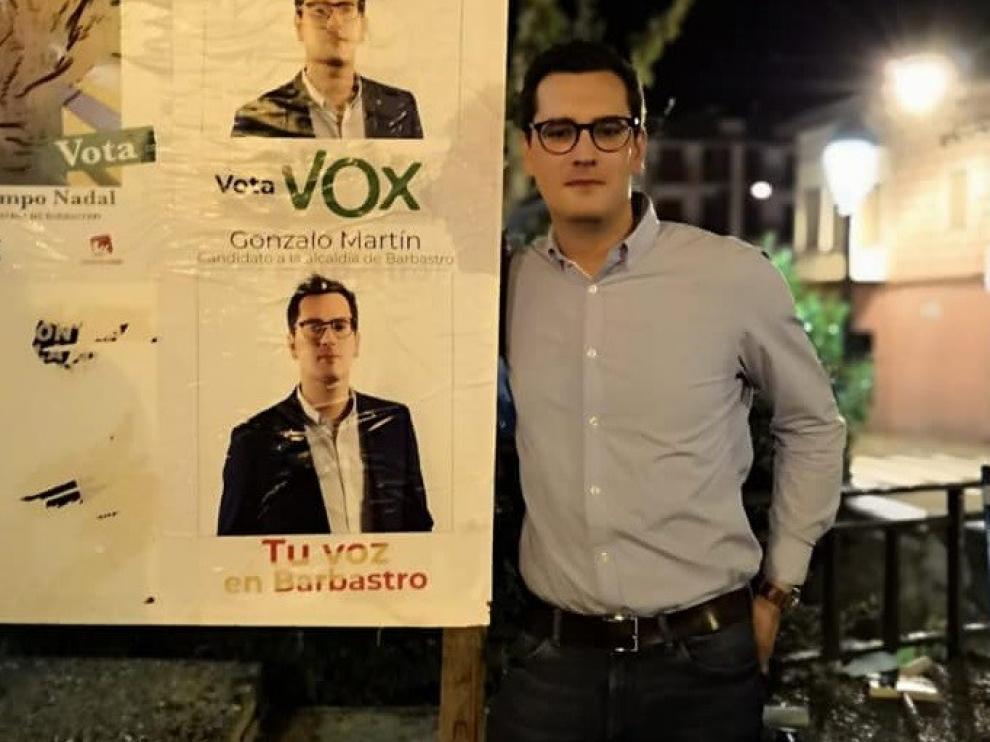 Gonzalo Martín ha dimitido como candidato a la alcaldía de Barbastro por Vox