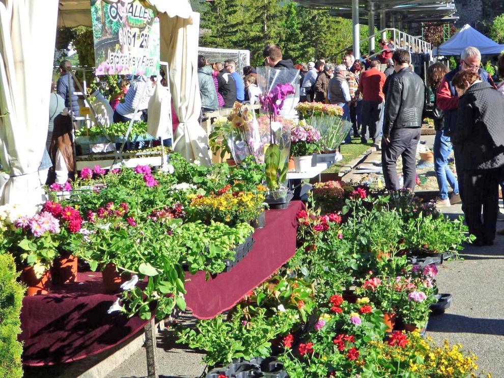 La Feria de la Primavera de Biescas cierra con éxito de público