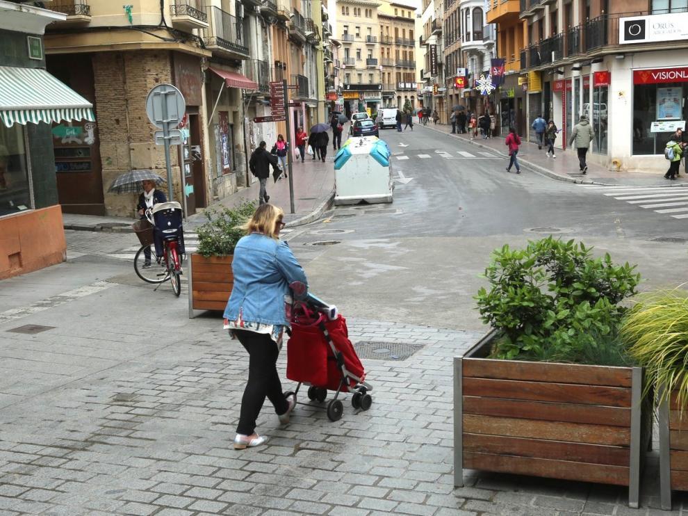 Nuevo trámite para concluir la peatonalización del Coso de Huesca