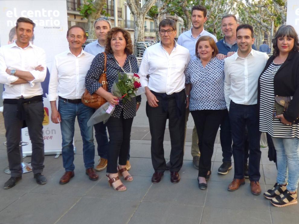 """El PAR reafirma """"su compromiso político"""" con Barbastro"""