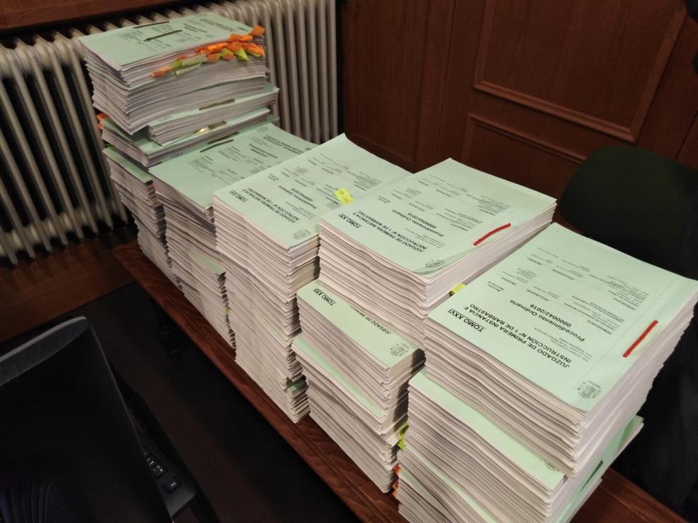 La historia del litigio se condensa en 36 tomos con 25.000 folios y 1.017 documentos