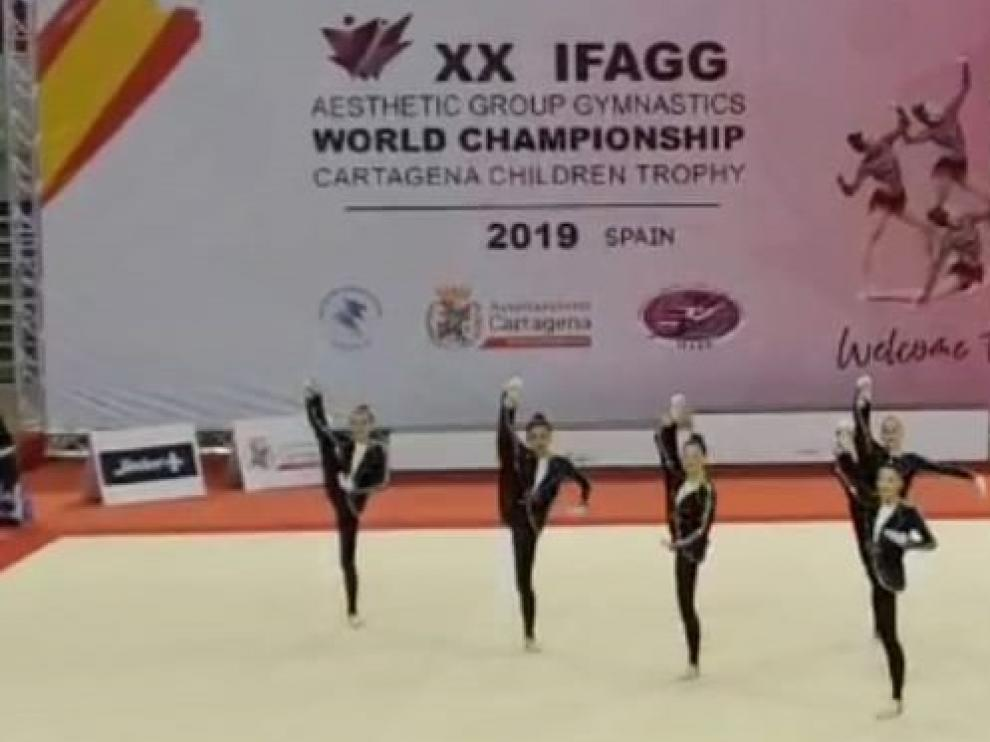 Dos equipos altoaragoneses en la final del World Championship Children Trophy de Cartagena