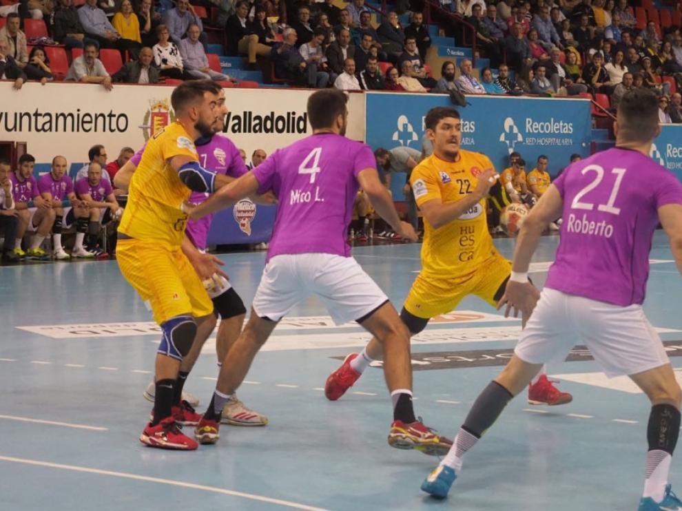 Bada Huesca se atasca en Valladolid (32-22)