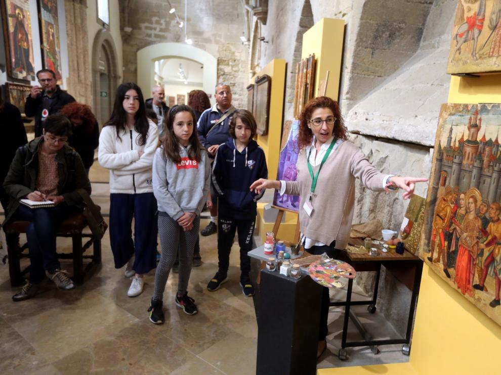 Grandes y pequeños disfrutan en el CDAN y el Museo Diocesano