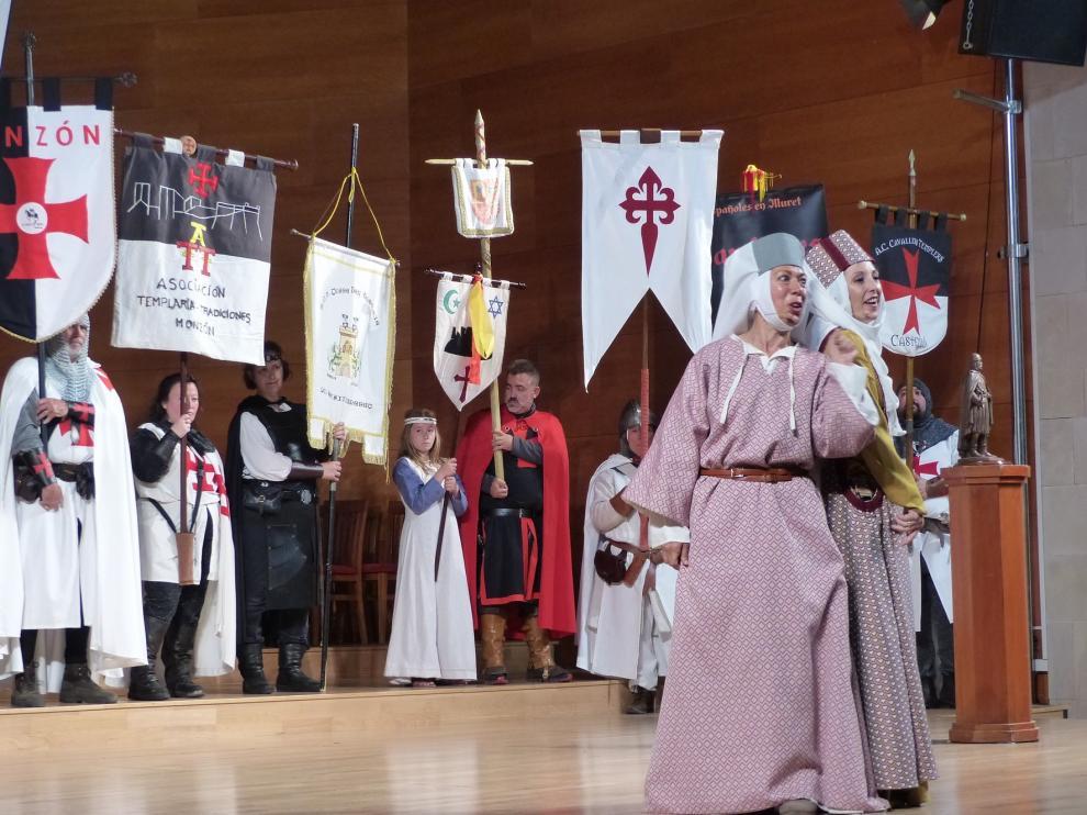 Monzón viaja al siglo XIII para homenajear a Mont-rodón