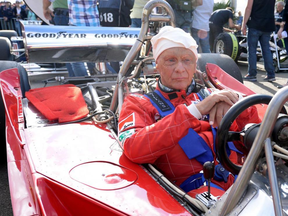 Muere a los 70 años de edad el mítico tricampeón del mundo de Formula 1 Niki Lauda