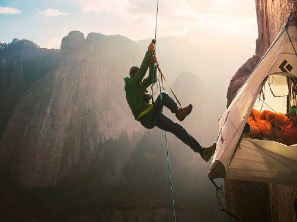 El Mendi Tour lleva el mejor cine de montaña a Monzón