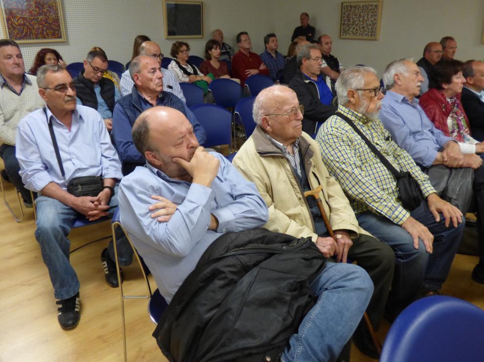 UGT acerca en su muestra de Barbastro a 130 años de historia del sindicato