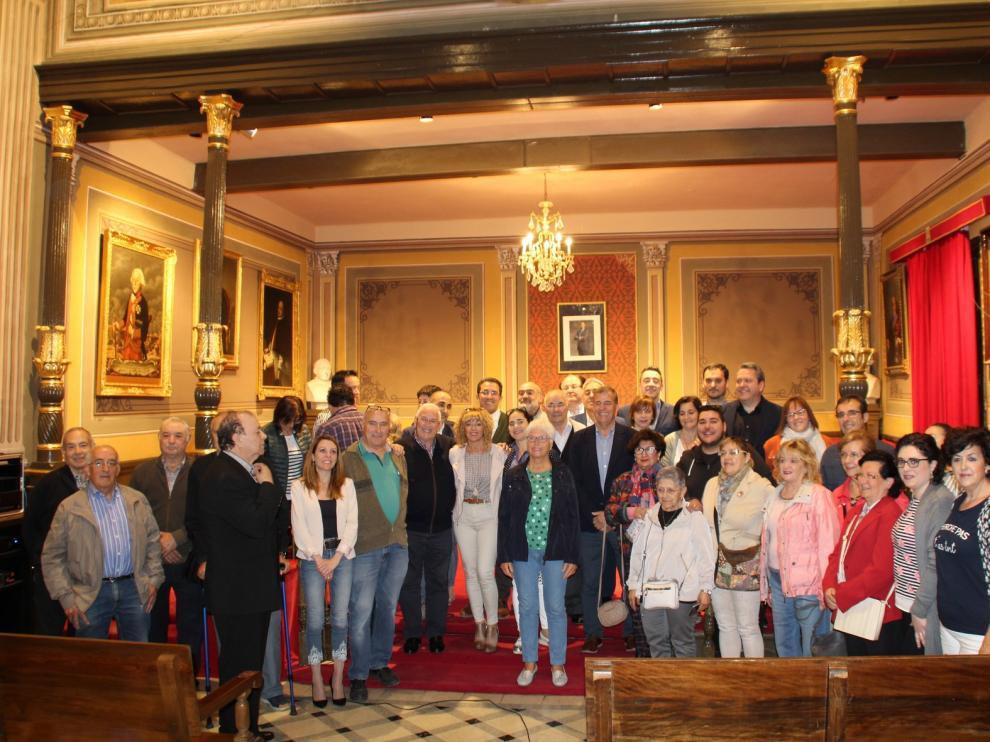 Jotas como colofón al último Pleno Extraordinario del Ayuntamiento de Barbastro