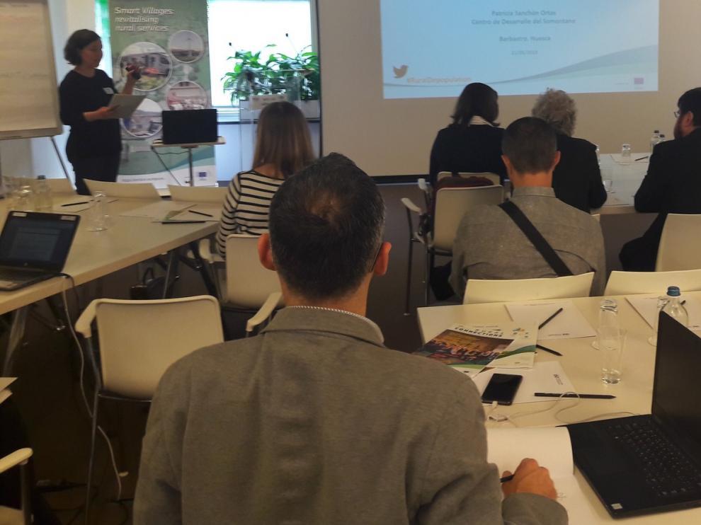 El proyecto Pueblos Vivos se da a conocer en Bruselas