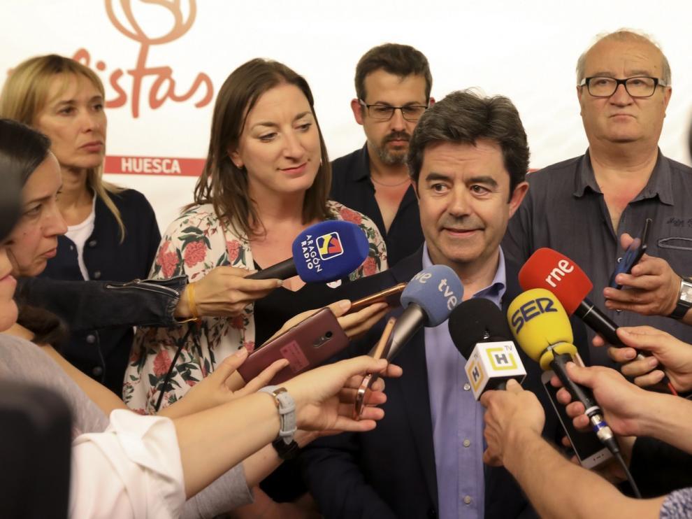 """Felipe advierte a Cs que sin Vox """"no suma"""" para llegar al gobierno de Huesca"""