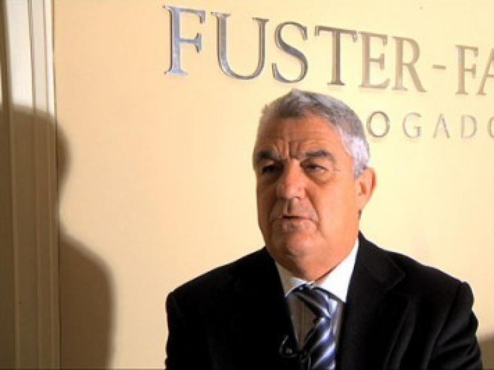 José María Fuster-Fabra asume la defensa de Agustín Lasaosa