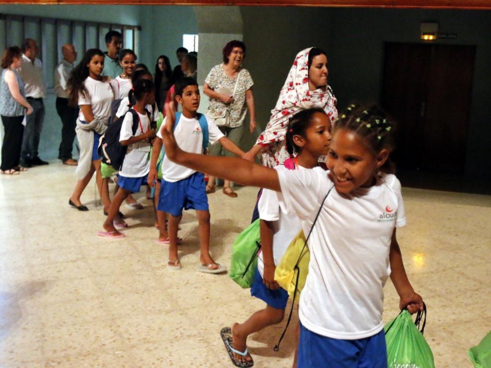 Buscan familias oscenses para acoger a niños saharauis en verano