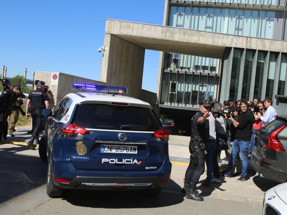 Los detenidos en la Operación Oikos declaran este jueves en el Juzgado número 5 de Huesca