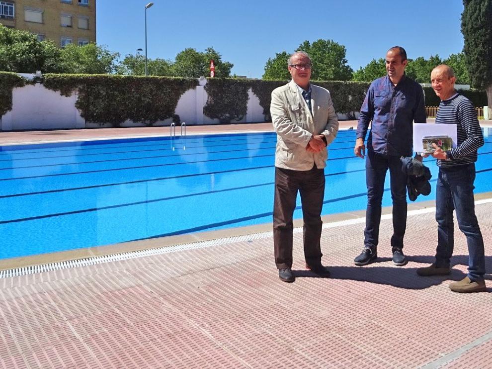 La temporada de piscinas de verano se inicia el 1 de junio en el Complejo Deportivo San Jorge