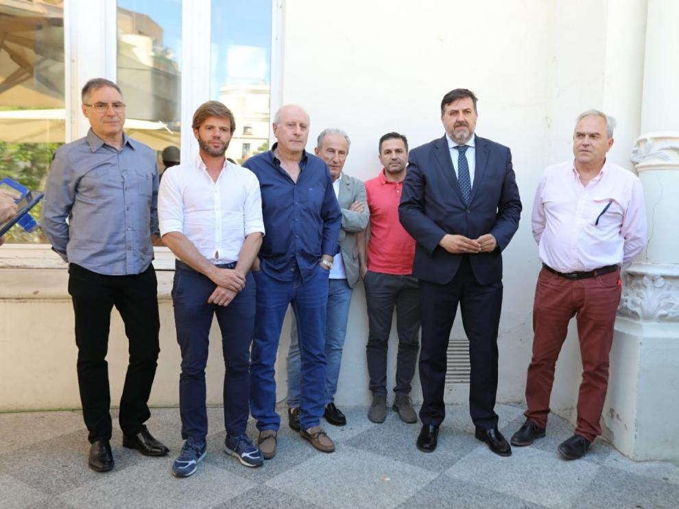Torres, nuevo consejero delegado del Huesca, que deja vacante la presidencia tras la renuncia de Lasaosa
