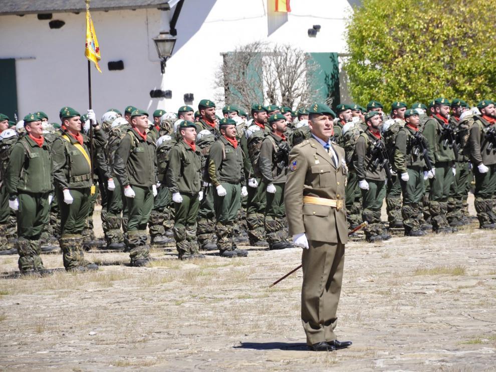 El Regimiento Galicia 64 de Jaca inaugura su nueva sala histórica