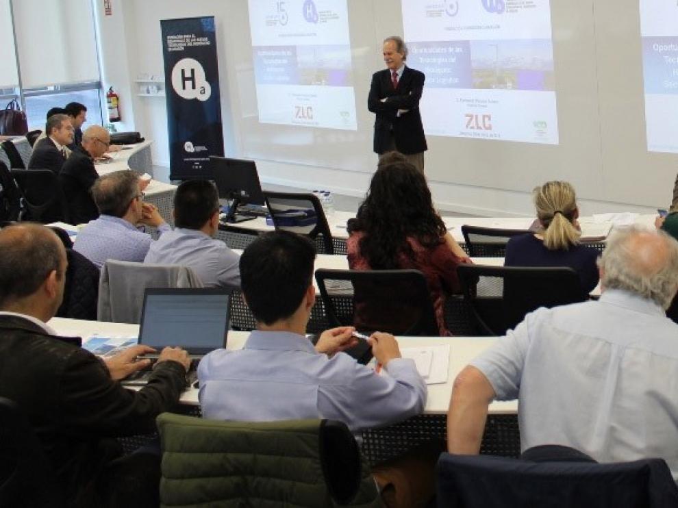 La Fundación acerca el futuro de la logística y el hidrógeno a las empresas
