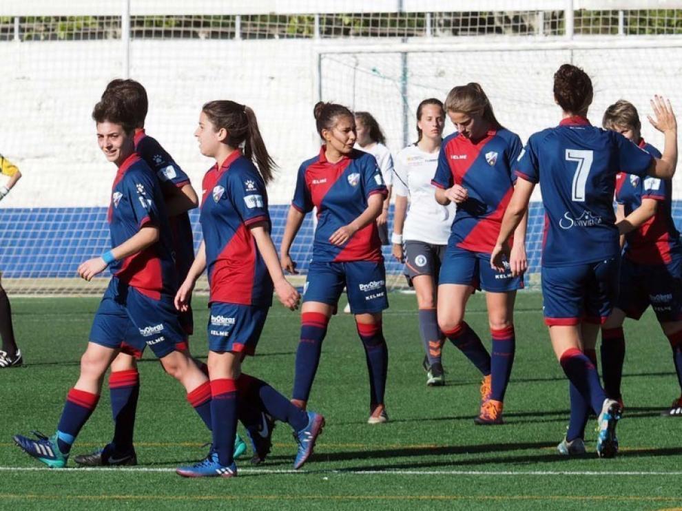 """Las chicas del Huesca, a """"rematar"""" el ascenso"""