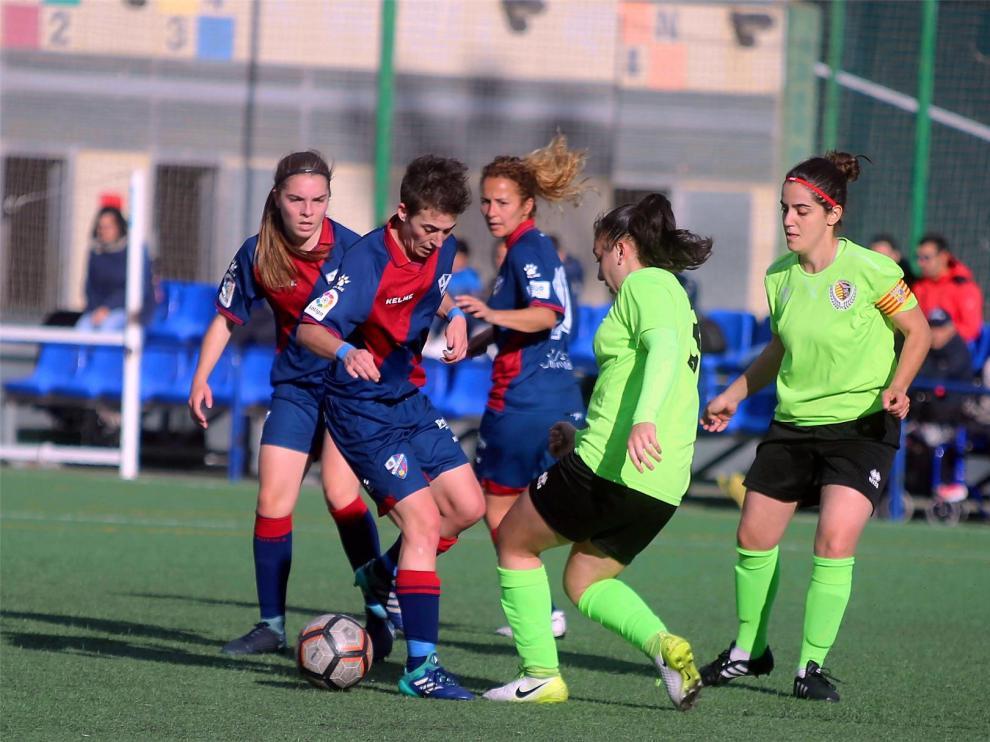 El Huesca femenino asciende a Segunda División