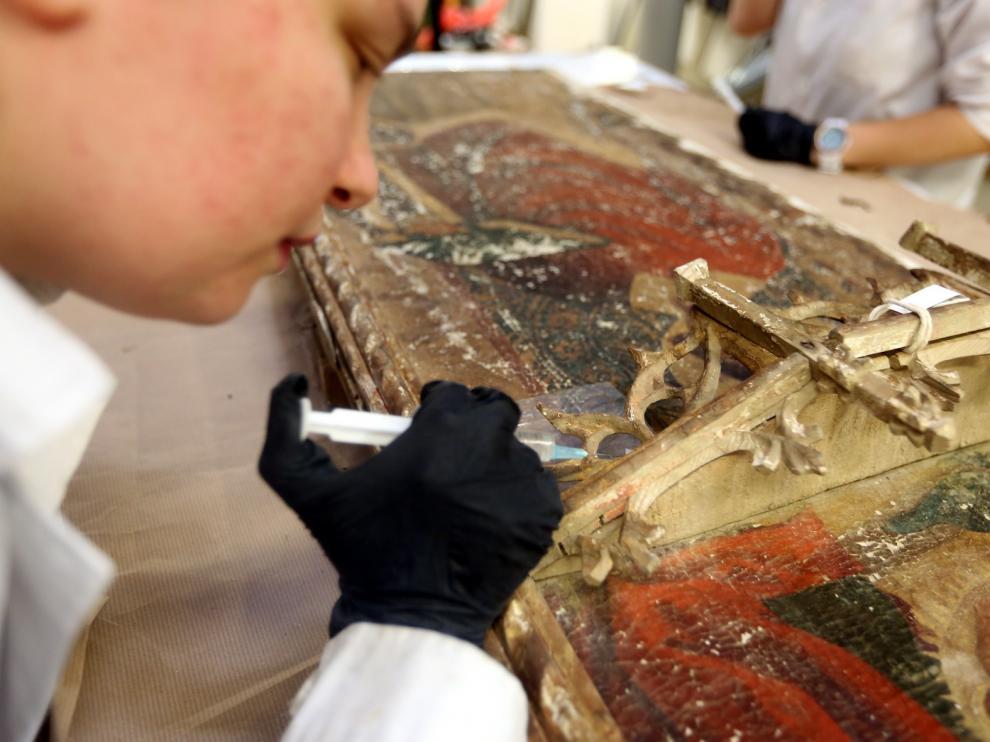 La Escuela de Restauración de Huesca y su gran prestigio casi desconocido