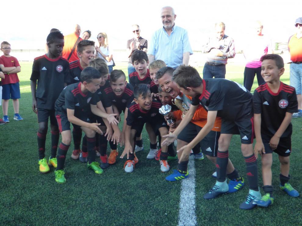 EFSD Huesca y Casablanca, campeones