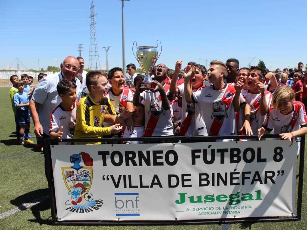River y FIF Lleida triunfan en el Villa de Binéfar