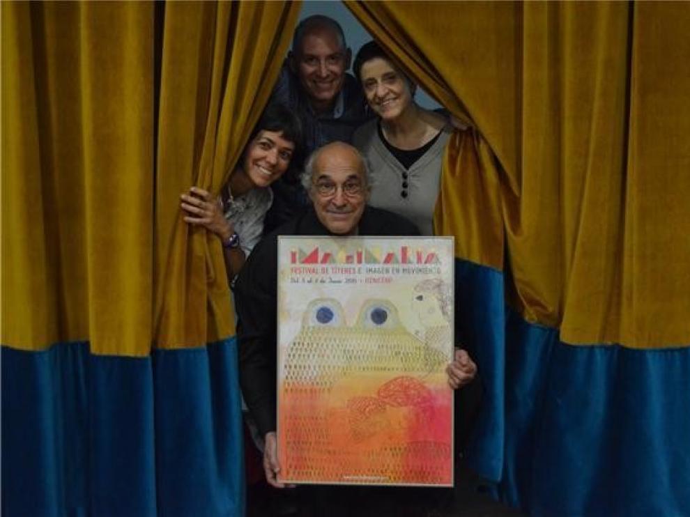 Los Titiriteros de Binéfar abren una exposición en Imaginaria