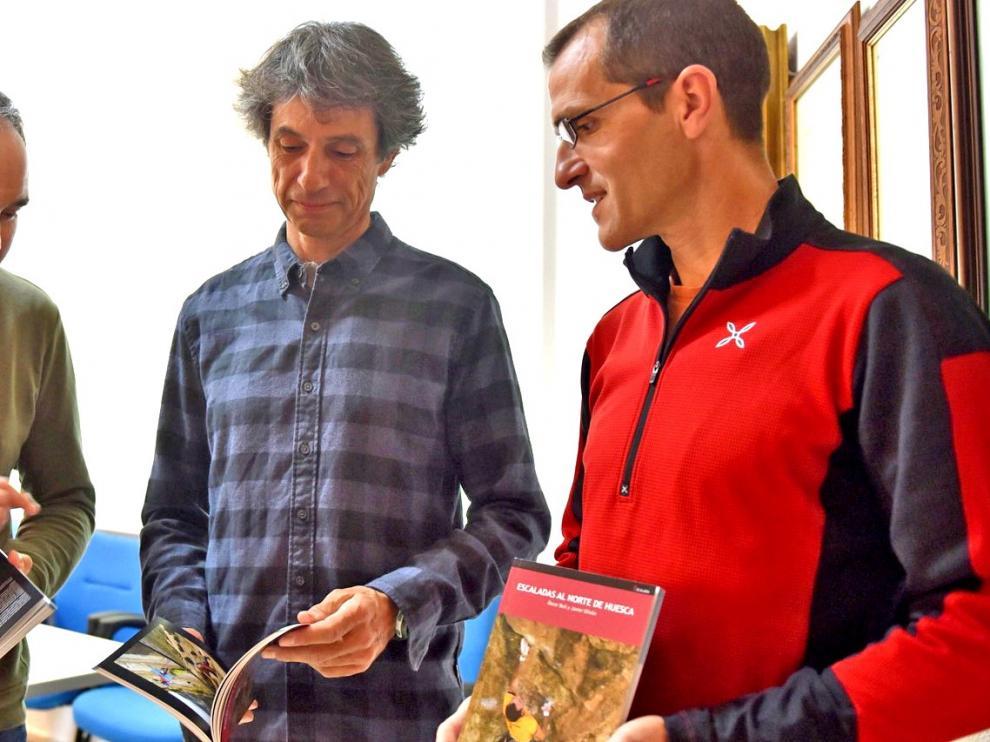 """Óscar Buil y Javier Oliván: """"Estas sierras son interesantes y con sectores de escalada para todos los niveles"""""""
