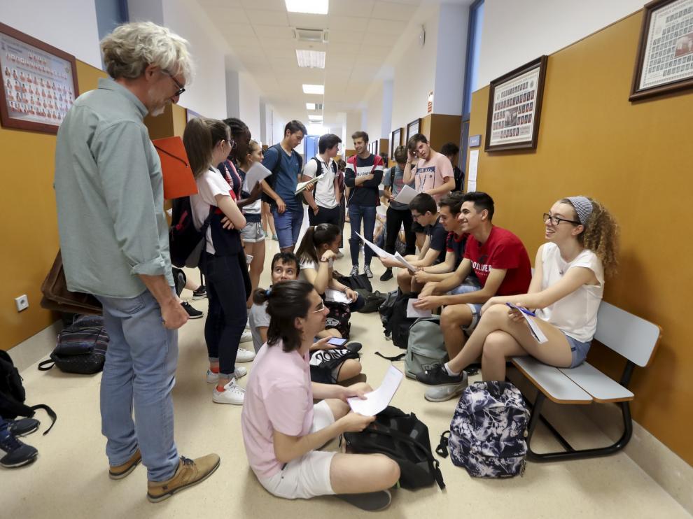Un total de 116 estudiantes comienzan el martes la Evau de septiembre en Huesca