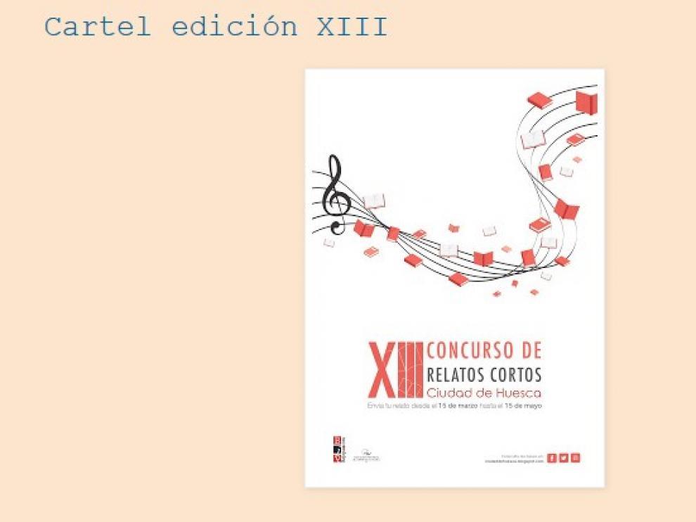 El 13 Concurso de relatos cortos Ciudad de Huesca ya tiene finalistas