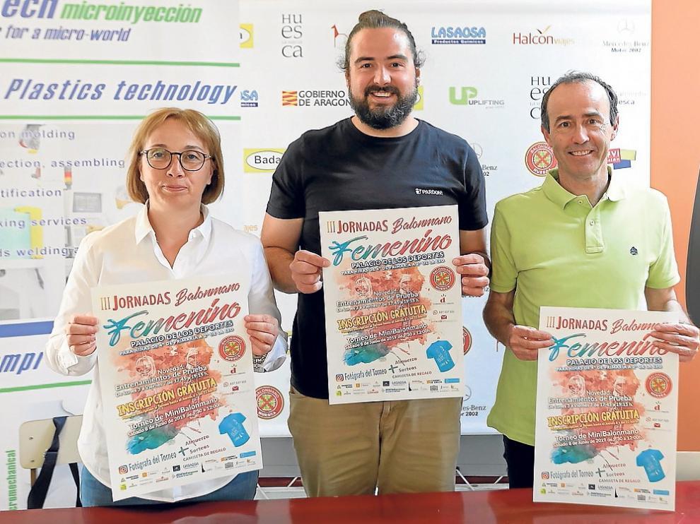 Balonmano Huesca busca jugadoras con sus Jornadas Femeninas