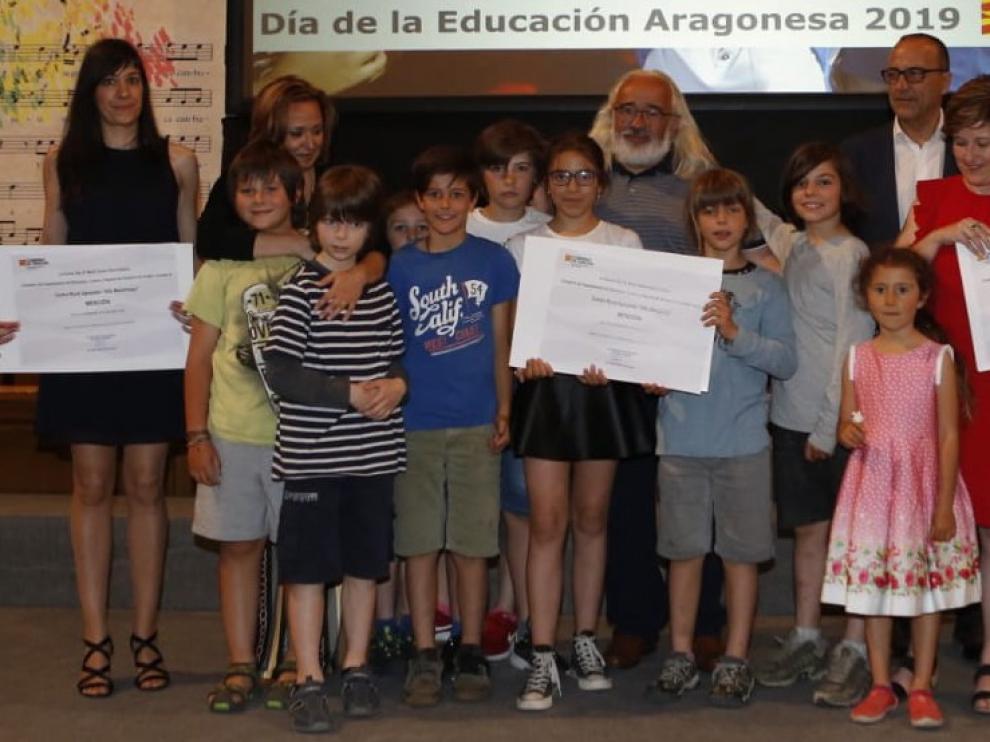 Reconocen la labor del CRA Alta Ribagorza y de Margarita Périz