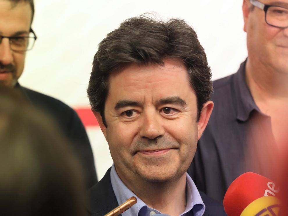 """Luis Felipe alaba la postura """"constructiva"""" de Ciudadanos como posible socio en el Ayuntamiento de Huesca"""