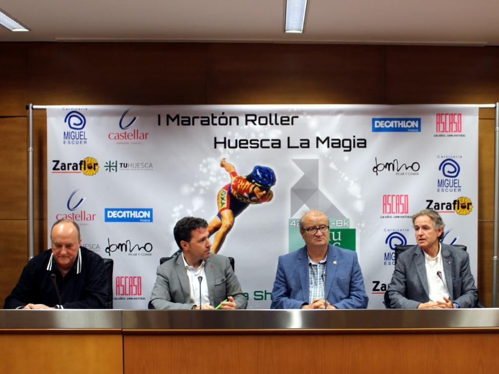 El Maratón Roller Huesca La Magia reunirá a 350 deportistas