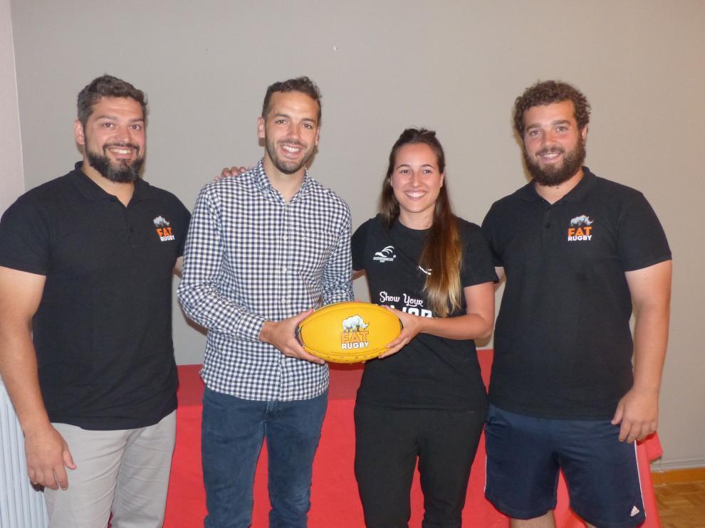El Fat Rugby atraerá el sábado a Monzón a más de 600 amantes del deporte oval