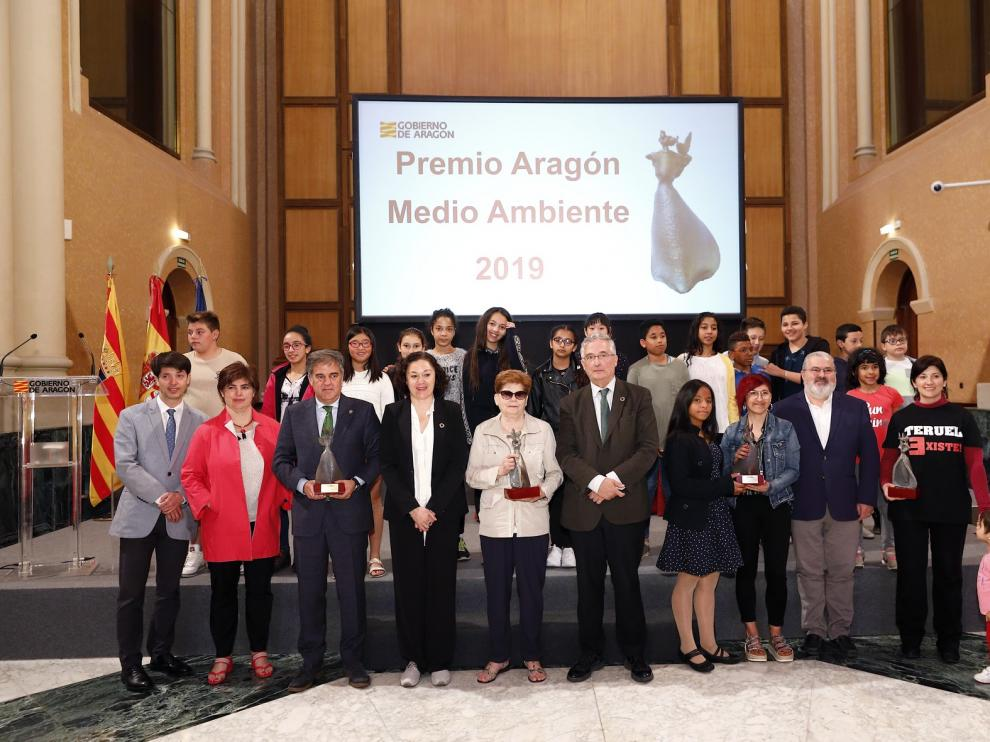 Enrique Gastón, Premio Aragón de Medio Ambiente a título póstumo
