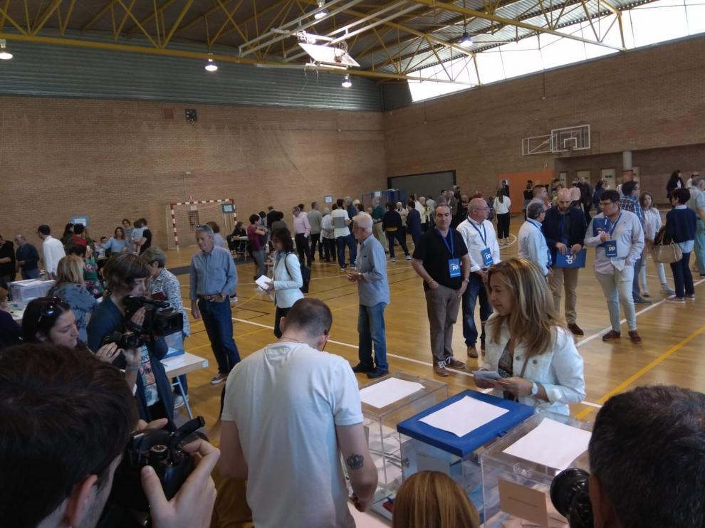 PP y Ciudadanos abren conversaciones para tratar de alcanzar un acuerdo en el Ayuntamiento de Huesca