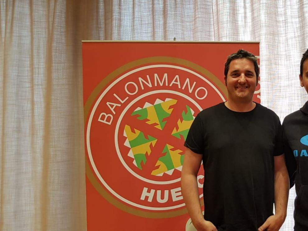 Gerard Espigol, entrenador del BM. Huesca B