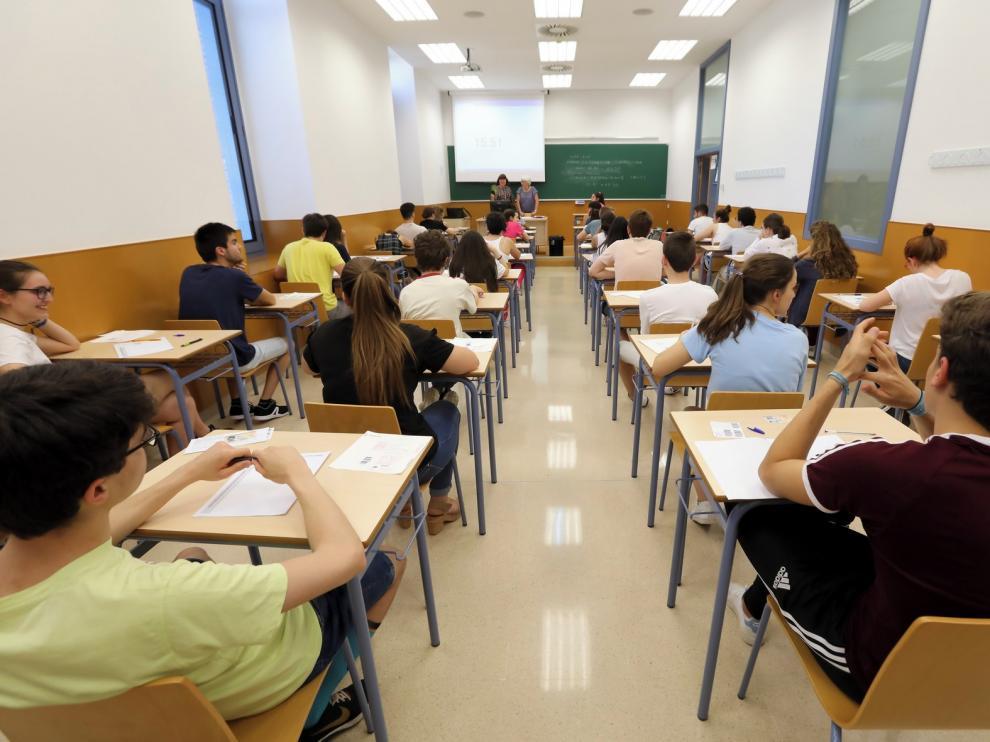 La nota de la prueba de acceso universitario se conocerá el 12 de junio