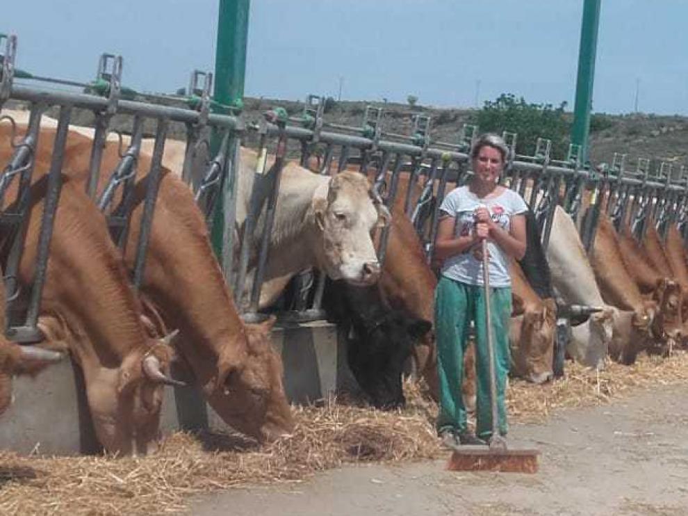 """Beatriz Sancho, veterinaria y ganadera: """"Somos contadas las mujeres, y eso que estamos capacitadas"""""""