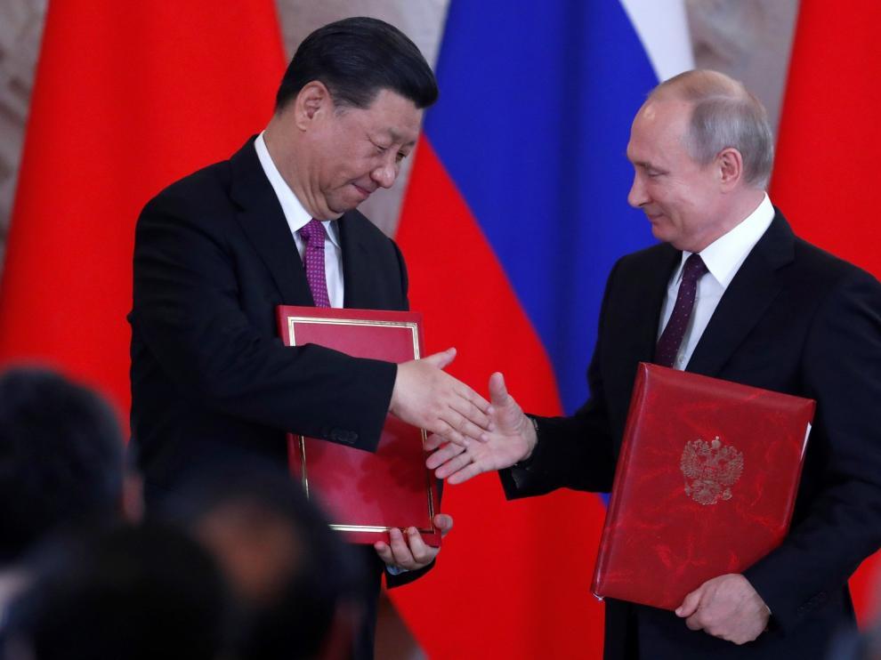 Putin y Xi lanzan una contraofensiva a la guerra comercial de EEUU
