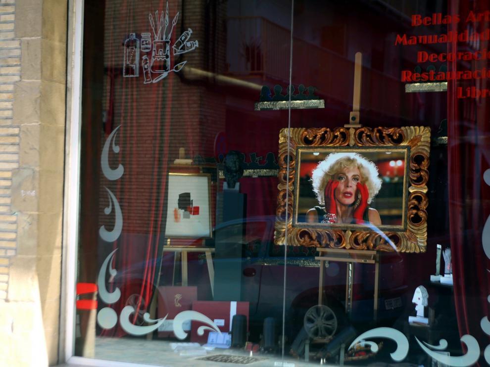 Escaparates de cine en Huesca