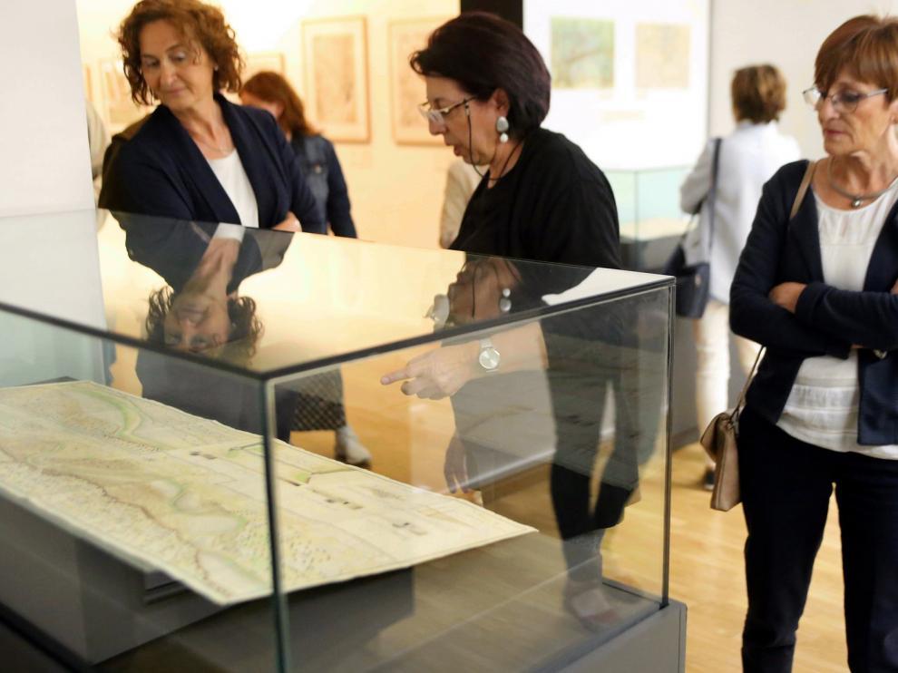El Archivo Provincial de Huesca revive la historia con 40 mapas